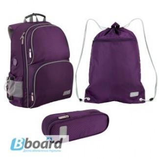 Школьный набор для мальчиков и девочек:рюкзак, сумка для обуви, пенал Kite Smart