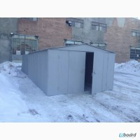 Металлический гараж стальной 2, 0 мм