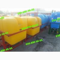 Навесные опрыскиватели ОП-400/600/800 л. + насос (120 л/мин) и кардан. Порошковая покраска