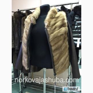 Весенняя куртка-трансформер, норка скандинавская