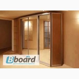 Корпусная мебель по индивидуальному заказу, окна и межкомнатные двери