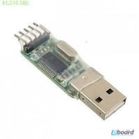 PL2303HX Модуль преобразователя интерфейсов USB to TTL PL2303HX
