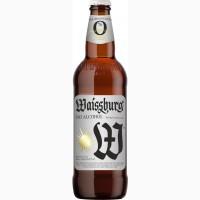 Пиво Вайсбург безалкогольне