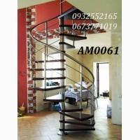 Гвинтові сходи, модульні сходи, сходи на косоурах, сходи на тятивах, сходи на больцах