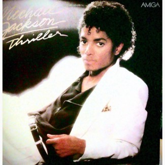 Пластинка Германия Майкл Джексон 1984 год