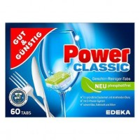 Таблетки для посудомойки GG Power Classic, 60 штук