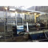 Капитальный ремонт автобусов после ДТП