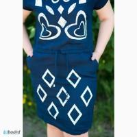 Платье - натуральный Белорусский лён