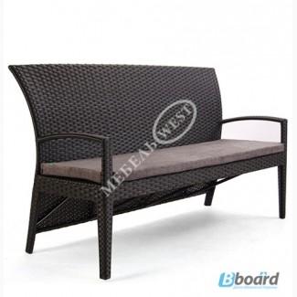 Купить мебель из ротанга, Диван Калифорния 3х местный