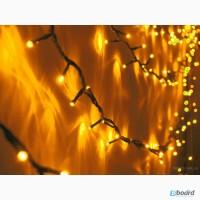 Световая нить, светящиеся гирлянды, новогодняя подсветка