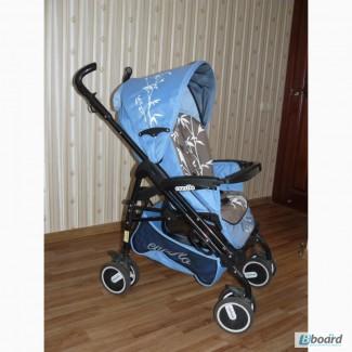 Коляска-трость EVERFLO PP-04 DC бамбук голубая (0-36 месяцев)