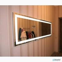 Купить зеркало в ванную с подсветкой
