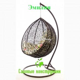 Садовое плетеное кресло кокон Кировоград