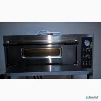 Однокамерная печь для пиццы бу IT PIZZA MS4 с подставкой
