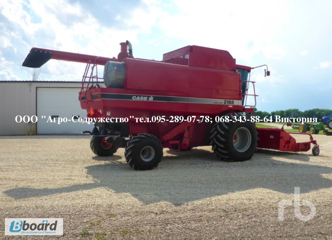Фото 11. 4800 моточасов Комбайн зерновой CASE 1660 из США