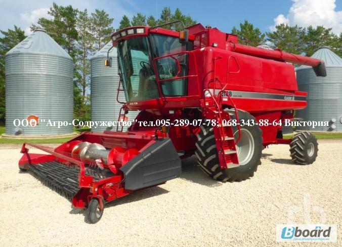 Фото 12. 4800 моточасов Комбайн зерновой CASE 1660 из США