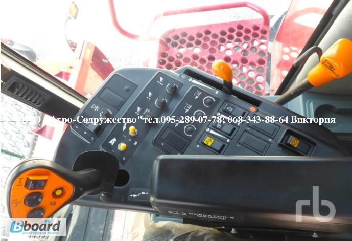 Фото 13. 4800 моточасов Комбайн зерновой CASE 1660 из США