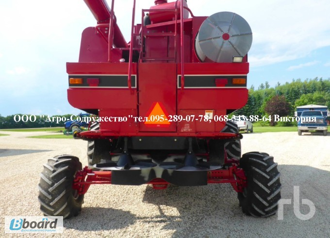 Фото 2. 4800 моточасов Комбайн зерновой CASE 1660 из США
