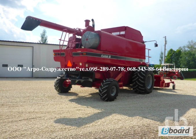 Фото 3. 4800 моточасов Комбайн зерновой CASE 1660 из США