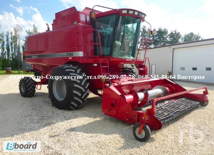 Фото 4. 4800 моточасов Комбайн зерновой CASE 1660 из США