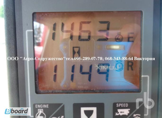 Фото 5. 4800 моточасов Комбайн зерновой CASE 1660 из США