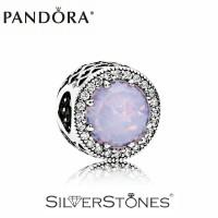 Скидки! Оригинал Pandora Пандора шарм бусина Сияющие сердца перламутрово-розовый 791725NOP