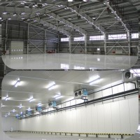 Будівництво. Ангар, склад, СТО. Монтаж металоконструкцій і сендвіч-панелей