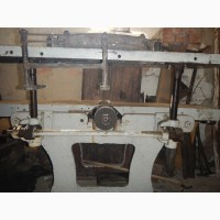 Продам станок-универсал деревообрабатывающий бу гаражного хранения, чугунный