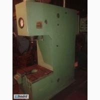 Продам пресс гидравлический П6328, ус. 63тонны, одностоечный, идеальное рабочее состояние