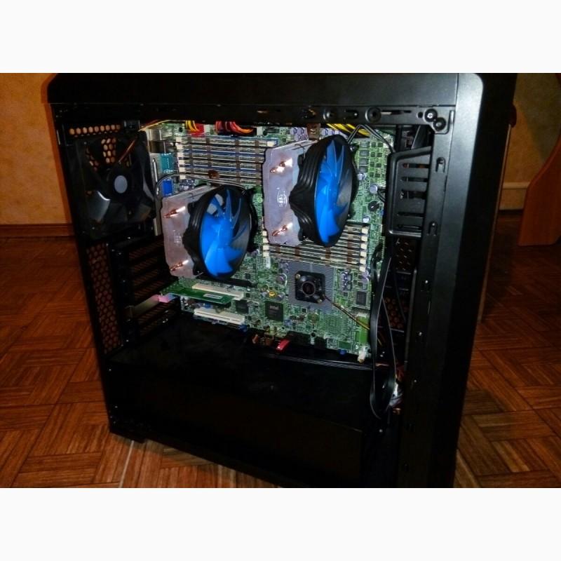 Продам РАБОЧАЯ станция DUAL XEON L5640, 24GB RAM для рендера и