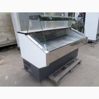 Холодильная витрина 1, 35 м. б/у, прилавок холодильный б/у