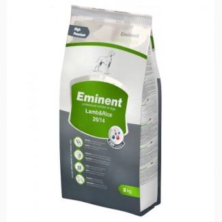 Гипоаллергенный корм для собак с ягненком и рисом Eminent Lamb/Rice - 3 кг