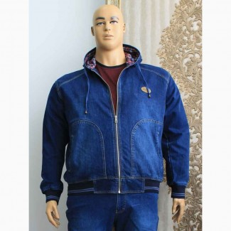 Куртки мужские джинсовые больших размеров