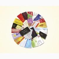 Изготовление визиток на дизайнерском картоне