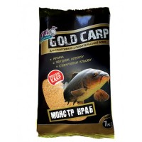 Прикормка рыболовная GOLD CARP (1000 грамм)