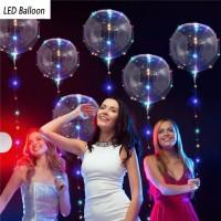 Светящиеся лед-шары, баблс, шарики светодиодные, бобо шары оптом