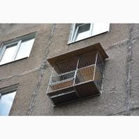 Прогулочный вольер для кошек на окно. Броневик Днепр
