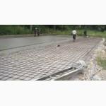 Сделать бетонную площадку