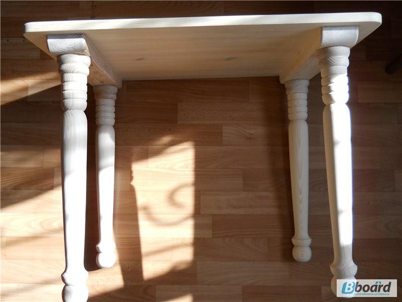 Сделать стол из балясин