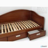 Диван-кровать из массива ясеня для детской комнаты от производителя