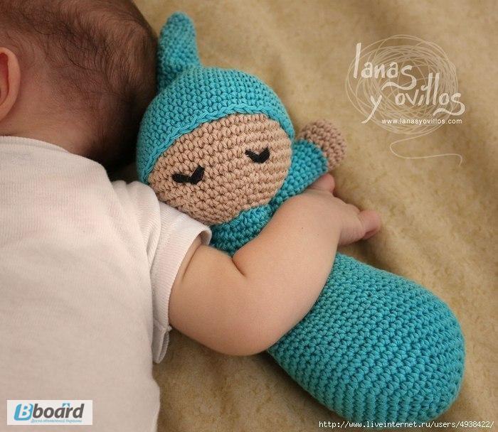 Вязание игрушек для новорожденных