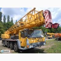 Услуги аренды Автокрана 55 тонн, стрела 41-56 метров. По всей Украине