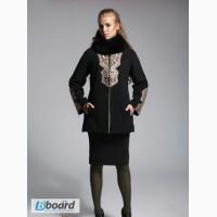 Пальто зимнее размеры от 44-60 в наличии, натуральный кашемир и мех песец