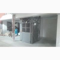 Шахтный подъемник грузовой электрический Подъемник на склад Монтаж