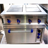 Плита электрическая 4-конф. духовка с конвекцией ABAT ЭПК-48ЖШ-К-2/1