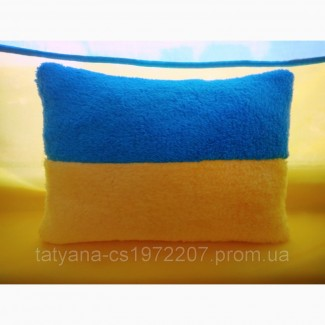 Декоративная подушка флаг Украины 30х20 см