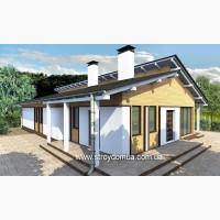 Строительство домов под ключ в Харькове, проект Англия