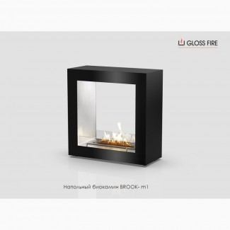 Напольный биокамин BROOK-m1 ТМ Gloss Fire
