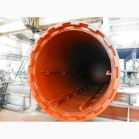 Автоклав, установка для термической обработки, термомодификации древесины