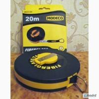 Рулетка Modeco 20м Fiberglass Польша Новая